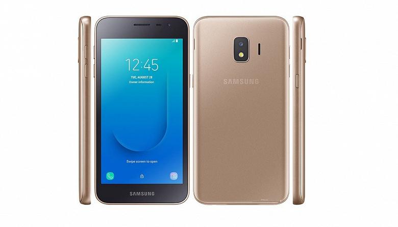 Samsung выпустила смартфон с 1 ГБ ОЗУ, съёмным аккумулятором и Android 8. И Galaxy J2 Core 2020 будут покупать
