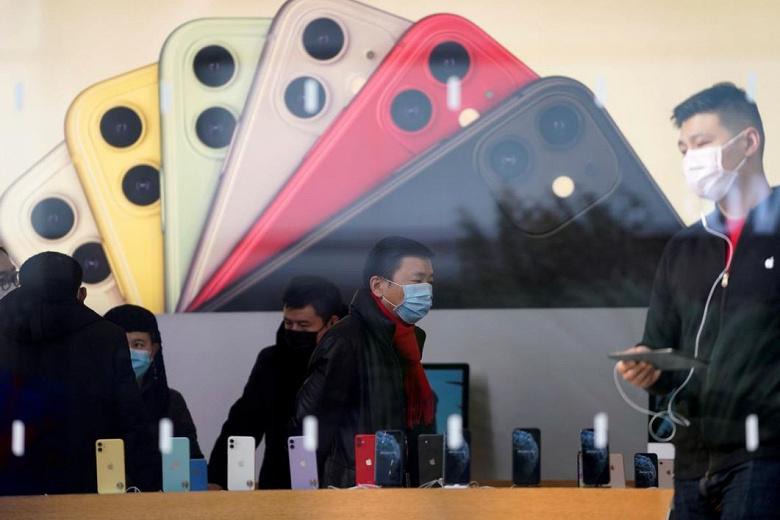 В марте Apple удалось продать в Китае в пять раз больше смартфонов, чем в феврале