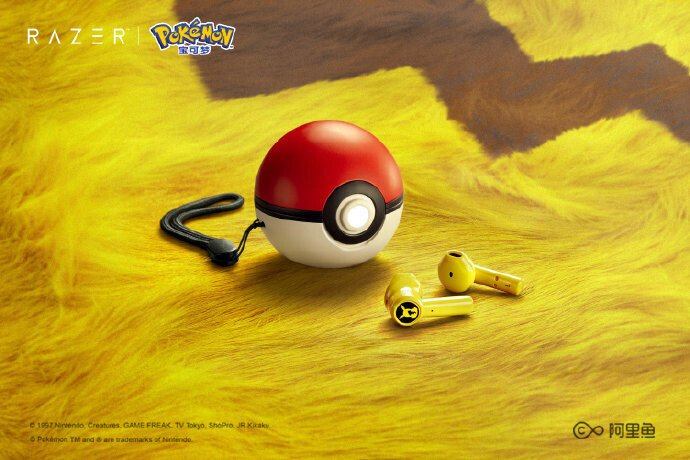 Наушники Razer Pokemon Pikachu True Wireles адресованы поклонникам популярной игры