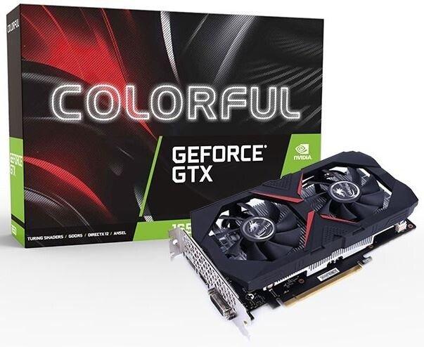 Компания Colorful представила три видеокарты на основе GeForce GTX 1650 GDDR6