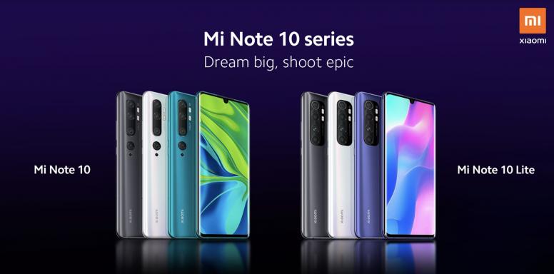 Цены и характеристики Xiaomi Mi Note 10 Lite в России за день до анонса