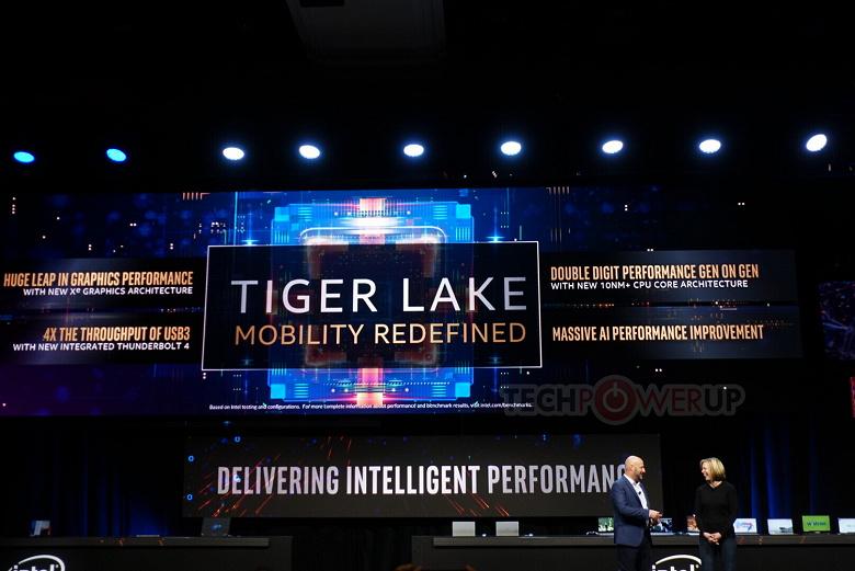 Мобильным процессорам AMD придётся несладко. Топовый Core i7-1185G7 поколения Tiger Lake впечатляет частотами