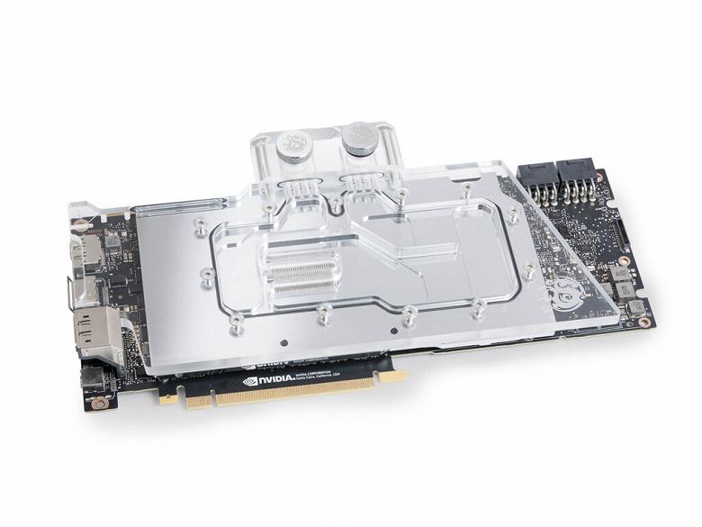 Водоблок Bitspower BP-VG2080RD1S подходит для многих видеокарт серии Nvidia GeForce RTX 20