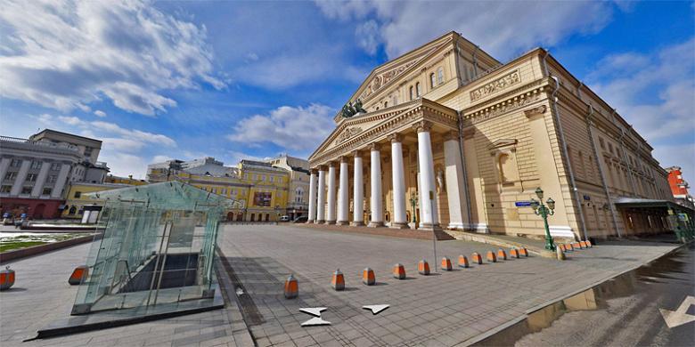 Панорамы самоизоляции. Яндекс предлагает полюбоваться на пустую Москву