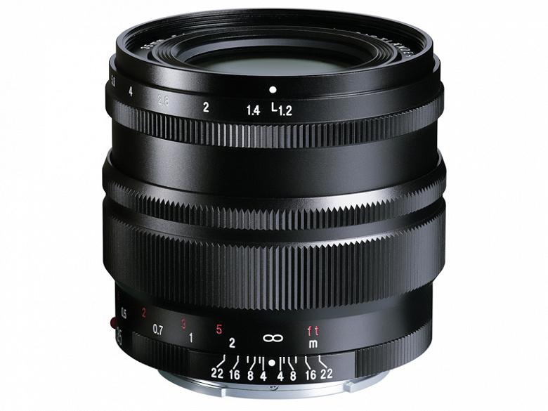 Представлены объективы Voigtlander Nokton 35mm f/1.2 Aspherical SE, Nokton 40mm f/1.2 Aspherical SE и Nokton 50mm f/1.2 Aspherical SE с креплением Sony E