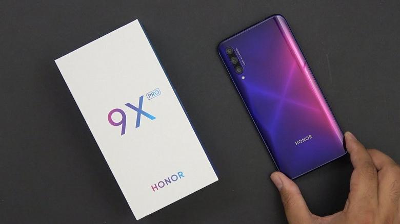Новый бестселлер. Смартфоны серии Honor 9X преодолели рубеж в 10 миллионов