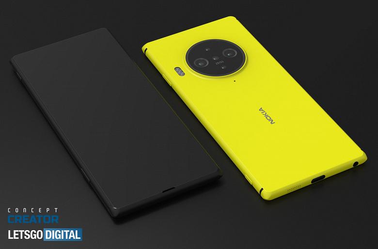 Nokia 9.3 PureView может получить подэкранную камеру. Качественные неофицальные рендеры
