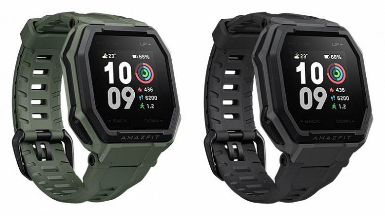 Представлены доступные защищенные умные часы AmazFit Ares