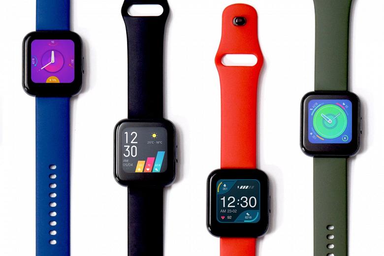 В Европе выходят умные часы Realme Watch, браслет Redmi Band, наушники Buds Air Neo и аккумулятор Power Bank 2