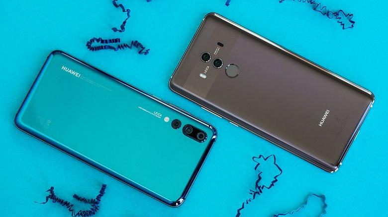 У пользователей Huawei P20 и Mate 10 праздник. Huawei выпустила для них Android 10 за пределами Китая