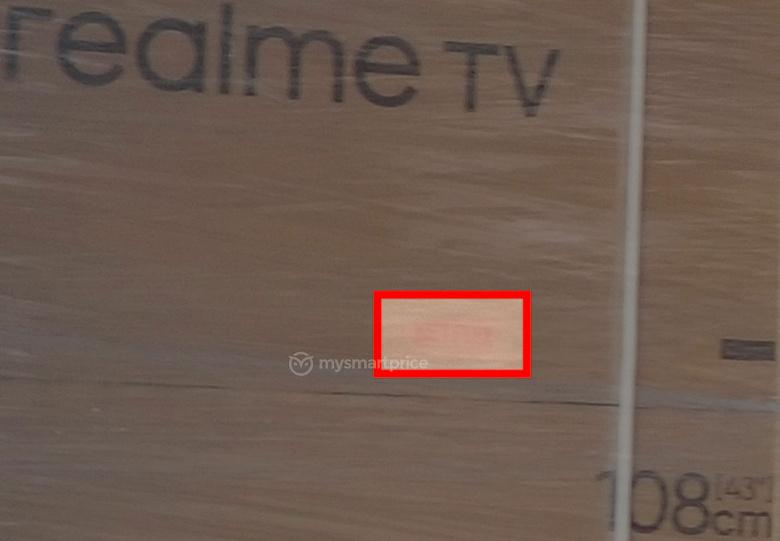 Главный конкурент Xiaomi TV начинает наступление с 43 дюймов. Первое фото упаковки Realme TV