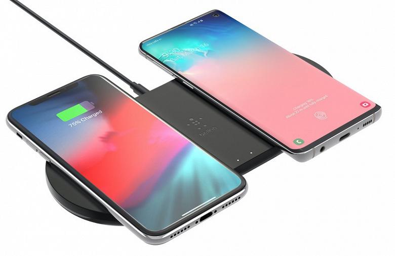 Устройство для одновременной зарядки iPhone, AirPods и Apple Watch и умная колонка с беспроводной зарядкой Belkin поступили в продажу