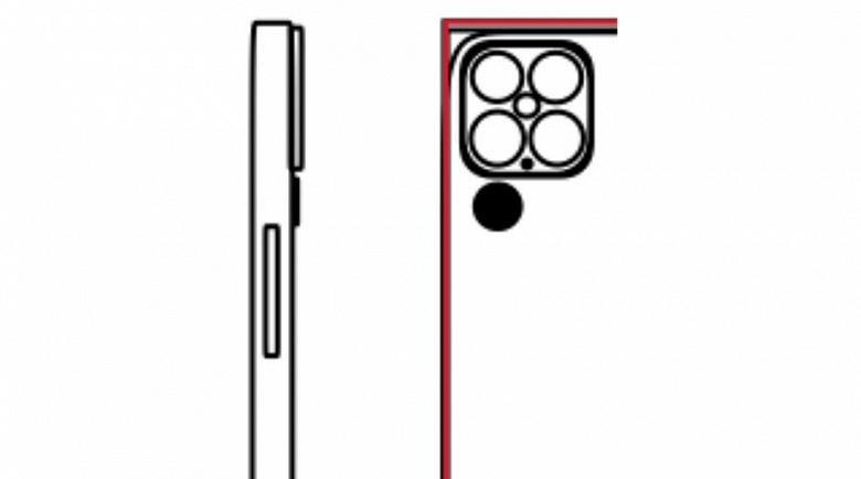 Смартфону iPhone 13 приписывают камеры разрешением 64, 40, 40 и 40 Мп