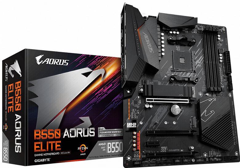 Стали известны цены плат Gigabyte на чипсете AMD B550