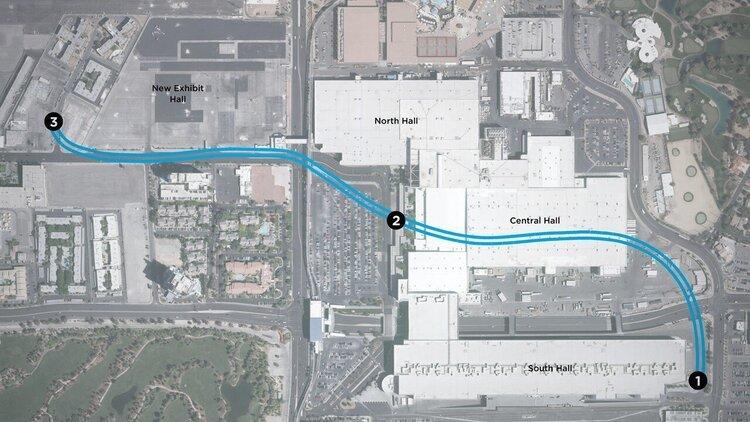 The Boring Company Илона Маска закончила рыть туннели под Лас-Вегасом. Систему Convention Center Loop запустят в январе