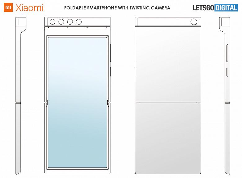 Первая раскладушка Xiaomi может удивить не только экраном, но и поворотной камерой