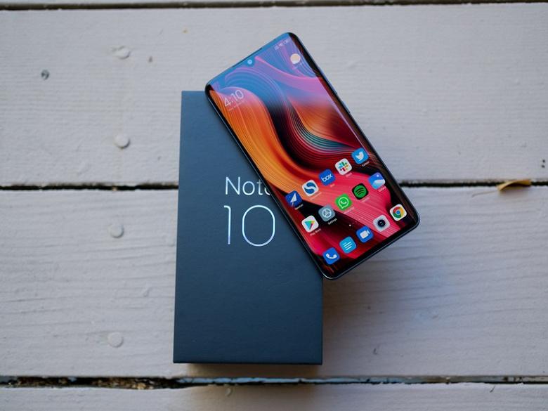 108-мегапиксельный Xiaomi Mi Note 10 дождался Android 10. Стабильная. Глобальная. Твоя