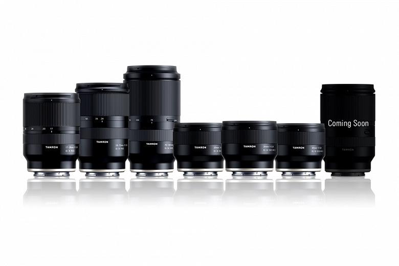 Tamron намекает на скорый выпуск полнокадрового зум-объектива для камер с креплением Sony E
