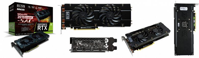 Представлены видеокарты ELSA GeForce RTX 2070 Super Erazor X и Super SAC
