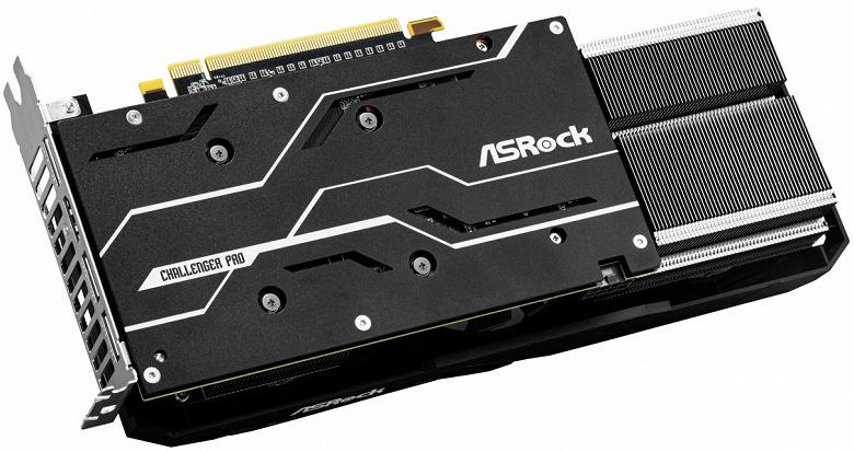 ASRock Radeon RX 5600 XT Challenger Pro 6G OC — одна из самых огромных видеокарт в классе