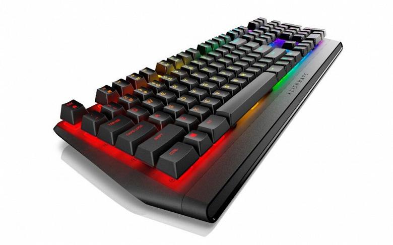 Механическая игровая клавиатура Alienware AW410K оценена в 129 долларов