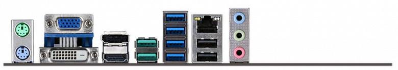 Для системной платы ECS B450AM4-M выбран типоразмер mATX