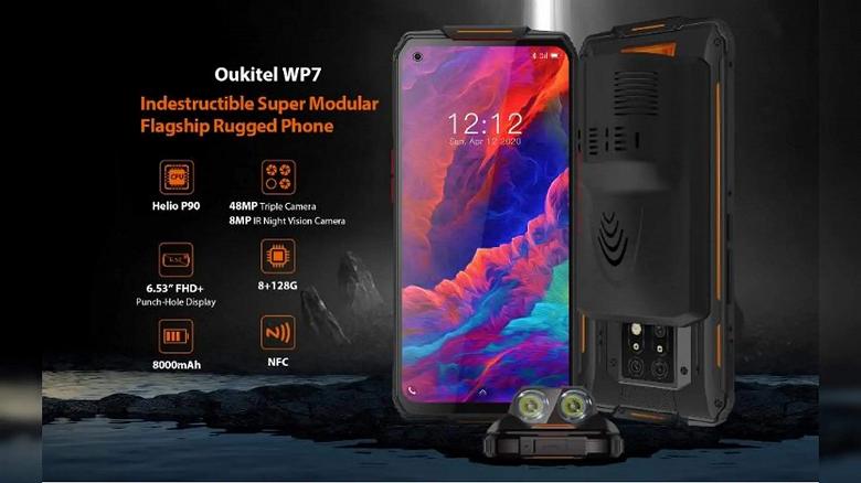 Первый в мире неубиваемый смартфон с камерой ночного видения, огромным аккумулятором и NFC