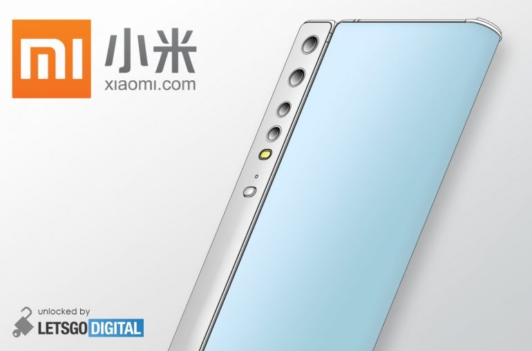 Складной смартфон Xiaomi похож на Huawei Mate Xs