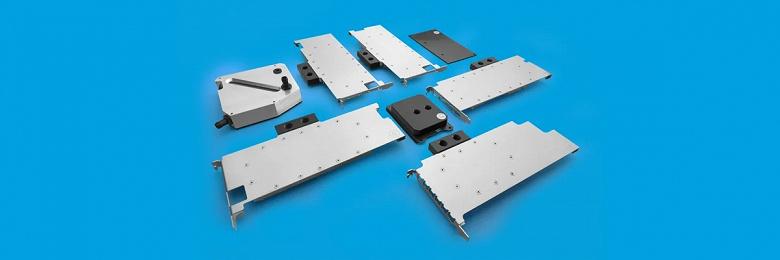 Компания EK Water Blocks представила серию водоблоков для графических решений AMD и Nvidia профессионального сегмента