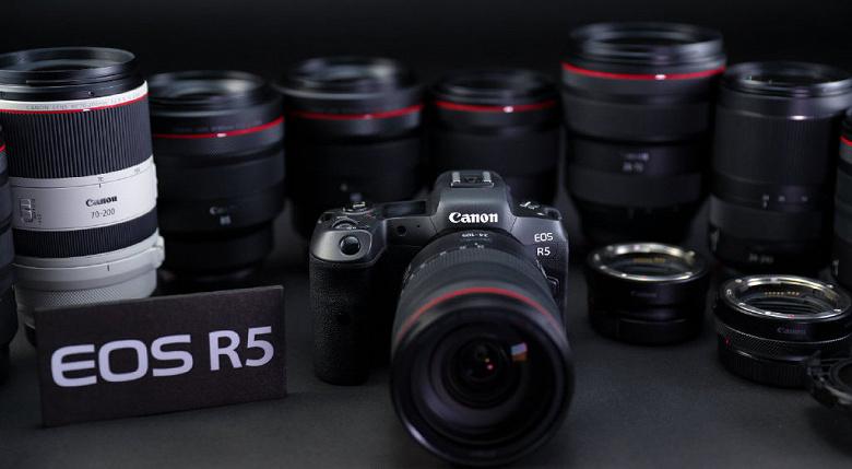 Фотогалерея дня: беззеркальная камера Canon EOS R5