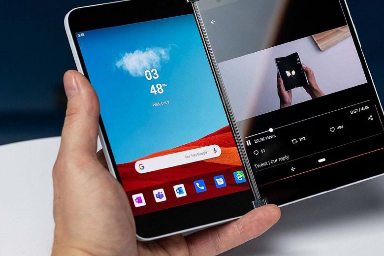 Один из самых необычных смартфонов в мире Android. Microsoft Surface Duo задерживается, но все еще должен выйти этим летом