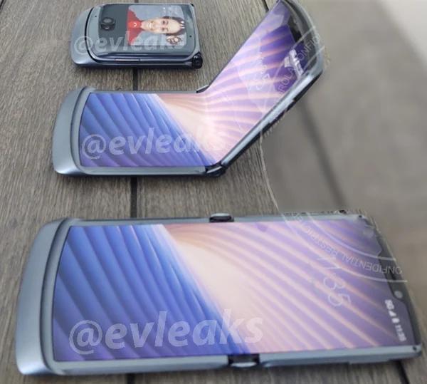 Первое изображение и характеристики Motorola Razr 2020