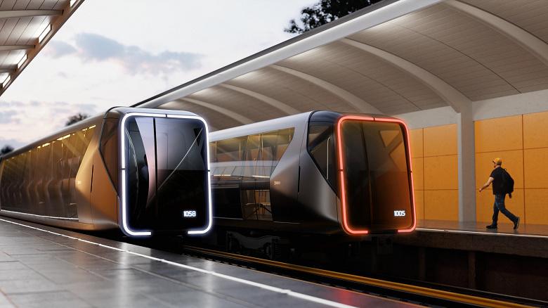 Студия Артемия Лебедева показала метропоезд будущего
