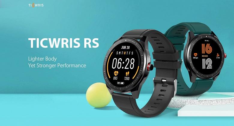 40-долларовые «умные часы» с тонким металлическим корпусом и двухнедельной автономностью. Представлены Ticwris RS