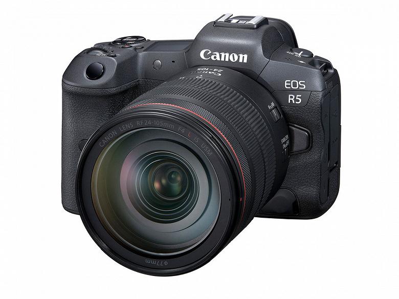 Обновление прошивки добавляет в камеру Canon EOS R5 профиль C-Log 3 и возможность снимать видео Full HD с частотой 120 к/с