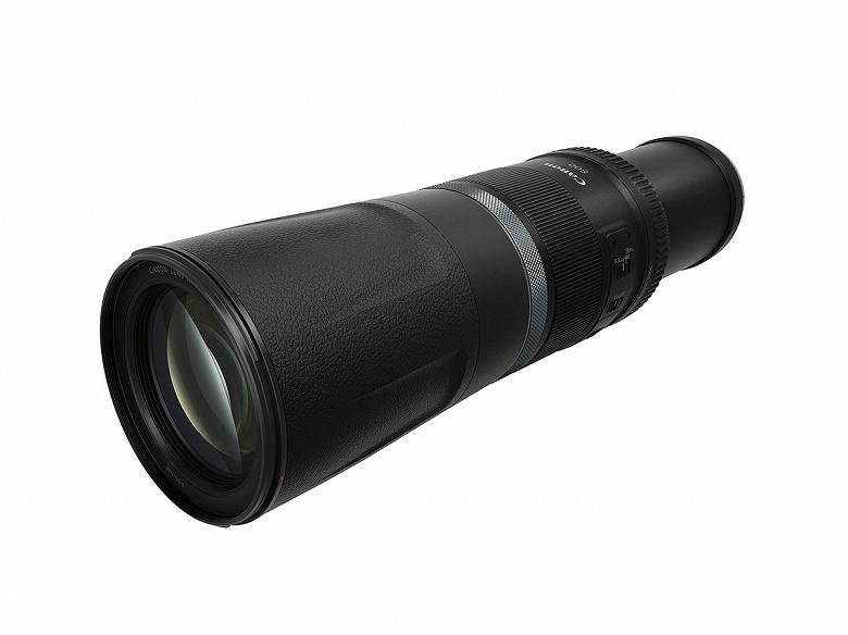 Представлены объективы Canon RF600mm F11 IS STM и RF800mm F11 IS STM, а также телеконверторы RF Extender 1.4x и RF 2x