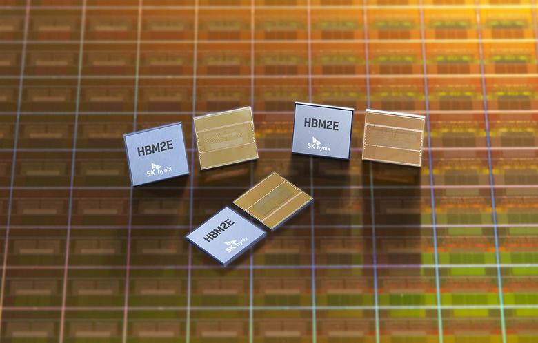 SK hynix начинает серийное производство памяти HBM2E