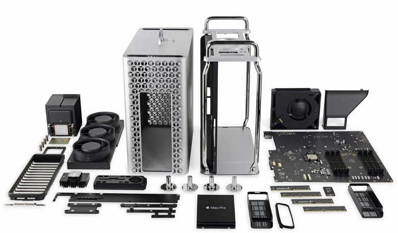 Теперь всего за 200 долларов базовый Mac Pro можно сделать чуть современнее. В конфигураторе появилась 3D-карта Radeon Pro W5500X
