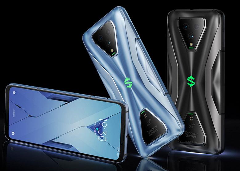 Игровые кнопки, 120 Гц, 12 ГБ и 65 Вт. Представлен геймерский смартфон Black Shark 3S