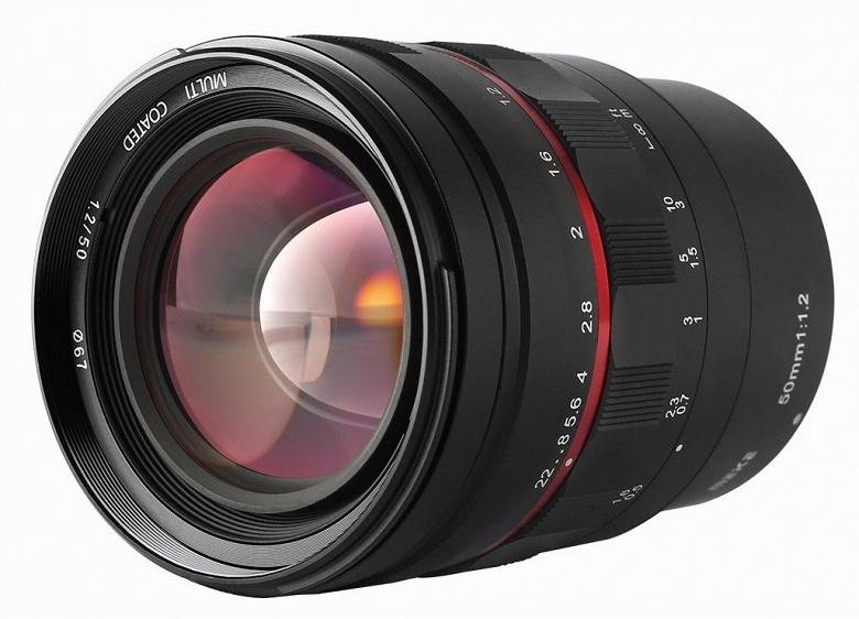 Полнокадровый объектив Meike 50mm f/1.2 выпускается в вариантах с креплением Nikon Z, Sony E, Canon RF и Canon EF