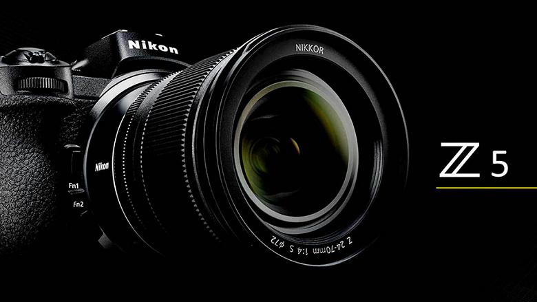Появились изображения и предварительные спецификации камеры Nikon Z5