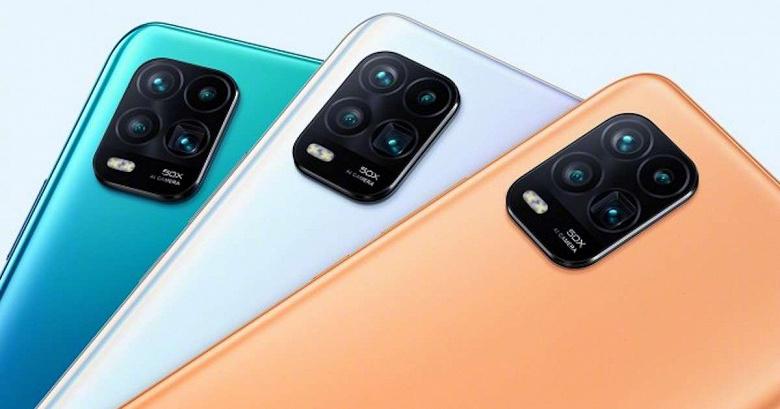 Xiaomi Mi 10 Youth Edition с перископной камерой впервые подешевел у себя на родине