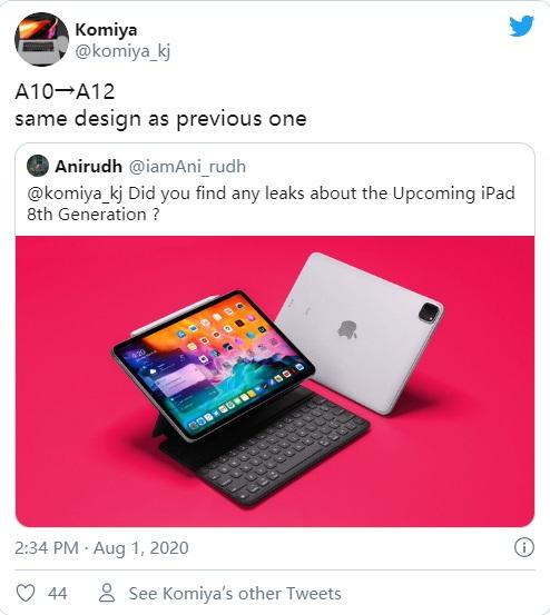 Вслед за дешевым iPhone SE выйдет дешевый iPad 8