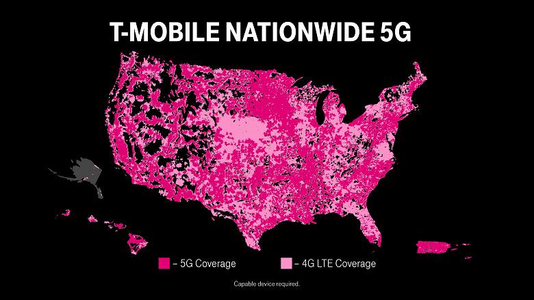 В США запущена первая в мире общенациональная автономная сеть 5G