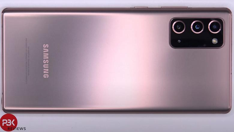 Аккумулятор Samsung Galaxy Note20 можно заменить, но сделать это непросто