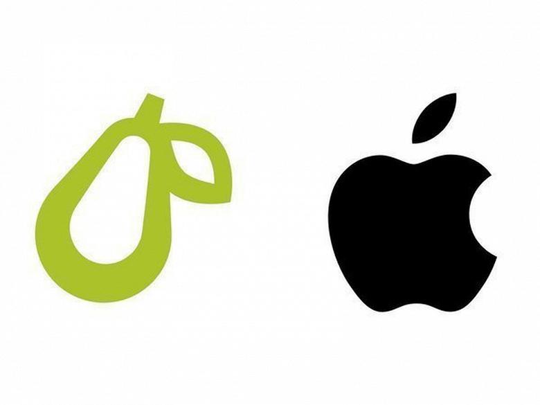 Apple атакует «грушевый» стартап Prepear и десятки других компаний с «фруктовыми» логотипами