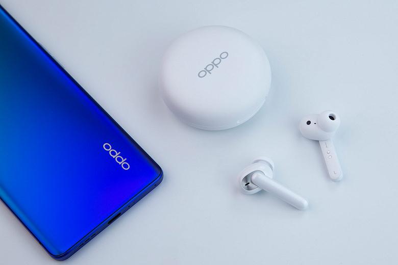 Названа цена и дата начала продаж наушников Oppo Enco W31 в России