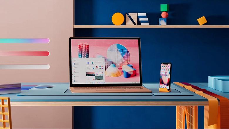 Microsoft показала ненастоящее меню «Пуск» и новый дизайн иконок