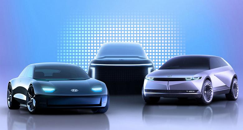 Hyundai будет использовать марку Ioniq для всех электромобилей