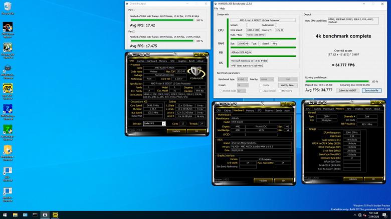 Энтузиаст разогнал AMD Ryzen 9 3900XT до рекордной отметки в HWBot x265, используя для охлаждения жидкий азот